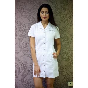 Šaty - krátké, tenké, bílé