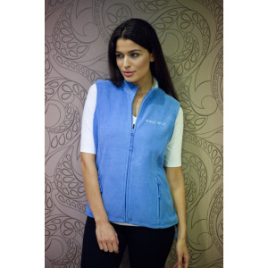 Fleecová vesta s logem MW - Modrá