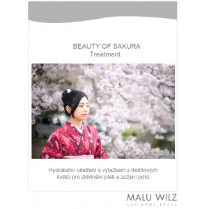"""Manuál pro """"Beauty of Sakura Ošetření"""""""
